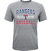 Majestic Youth Texas Rangers Hall-of-Fame Tri-Blend T-Shirt