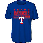 Majestic Youth Texas Rangers Dri-Tek Digital Score T-Shirt