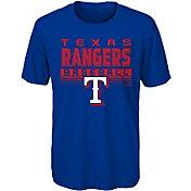 Majestic Youth Texas Rangers Dri-Tek Digital Score T-Shirt
