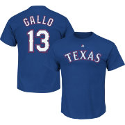 Majestic Youth Texas Rangers Joey Gallo Royal T-Shirt