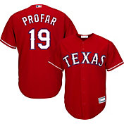 Youth Replica Texas Rangers Jurickson Profar #19 Alternate Red Jersey