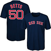 Majestic Youth Boston Red Sox Mookie Betts #50 Performance T-Shirt