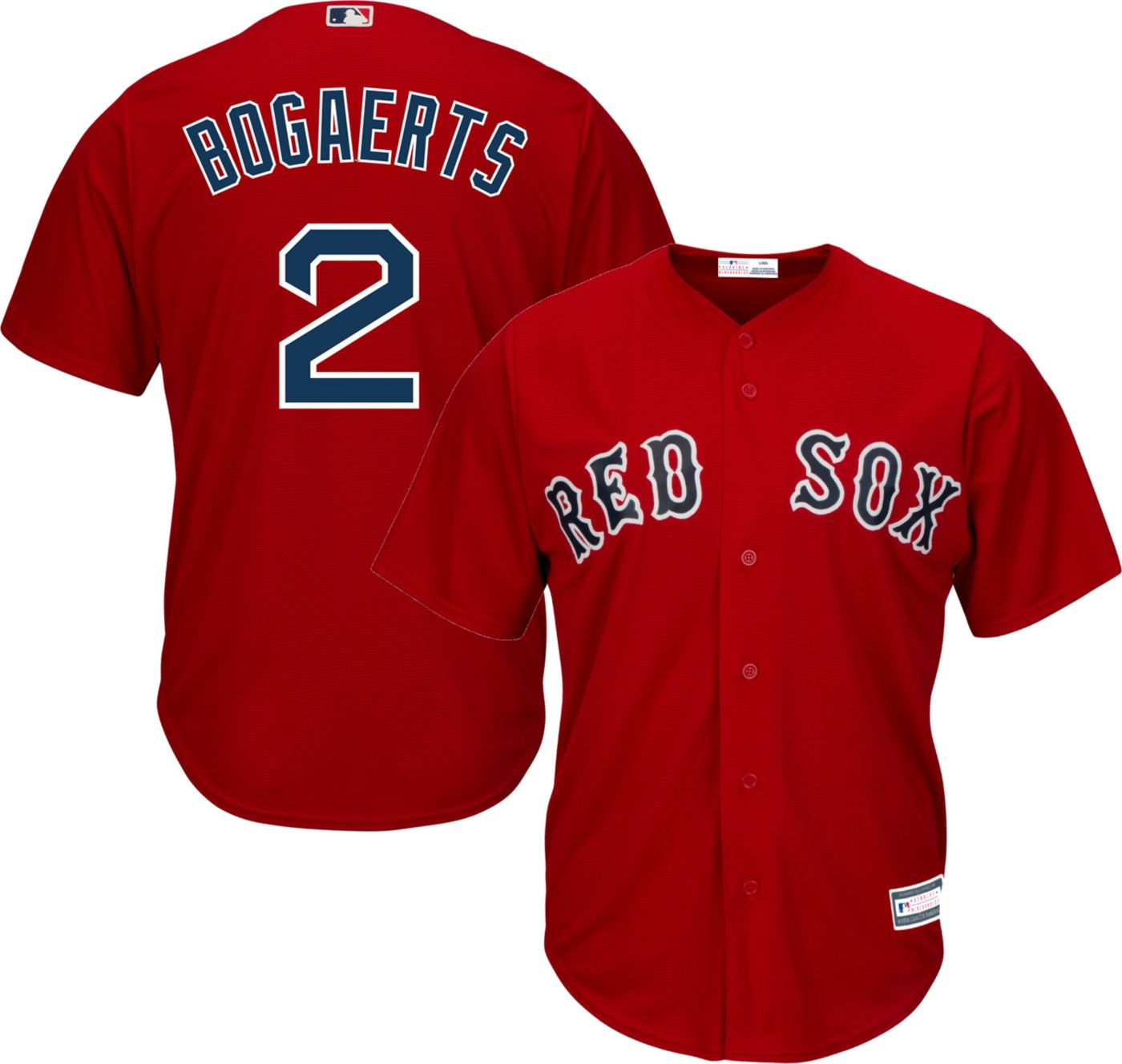 Youth Replica Boston Red Sox Xander Boegarts #2 Alternate Red Jersey