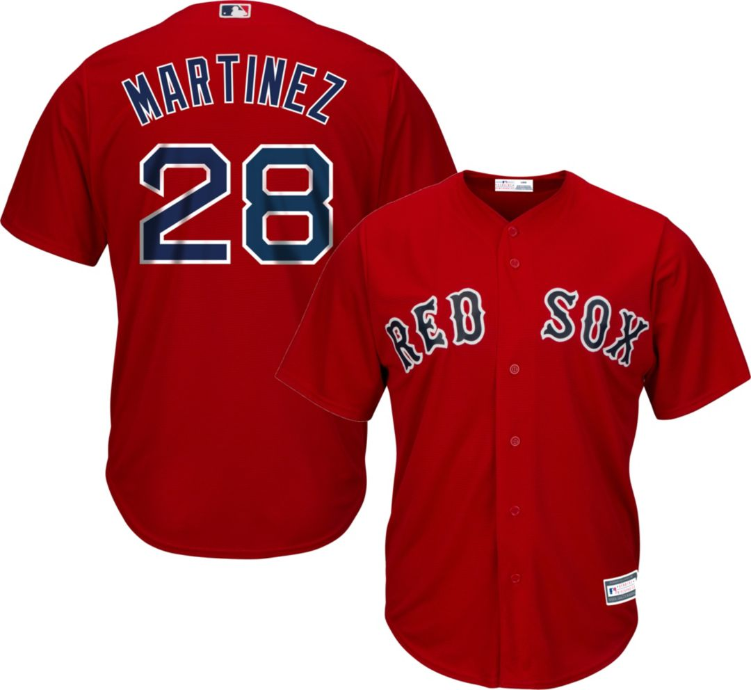 best sneakers ee708 2bcc2 Youth Replica Boston Red Sox J.D. Martinez #28 Alternate Red Jersey