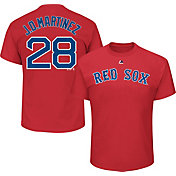 Majestic Youth Boston Red Sox J.D. Martinez Red T-Shirt