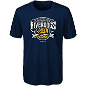 Majestic Youth Charleston RiverDogs Navy T-Shirt