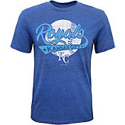 Majestic Youth Kansas City Royals Flagship Tri-Blend T-Shirt