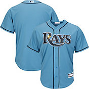 Youth Replica Tampa Bay Rays Alternate Light Blue Jersey