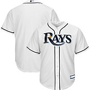 468c0e7e8 Product Image · Youth Replica Tampa Bay Rays Home White Jersey
