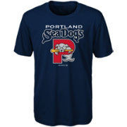 Majestic Youth Portland Sea Dogs Navy T-Shirt