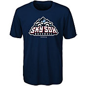 Majestic Youth Colorado Springs Sky Sox Navy T-Shirt