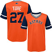 "Majestic Youth Houston Astros Jose Altuve ""Tuve"" MLB Players Weekend Jersey Top"