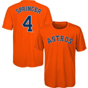 Majestic Youth Houston Astros George Springer #4 Performance T-Shirt