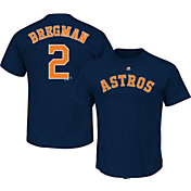 Majestic Youth Houston Astros Alex Bregman Navy T-Shirt