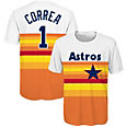 Majestic Youth Houston Astros Carlos Correa T-Shirt