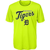 Majestic Youth Detroit Tigers Glowing Game Neon T-Shirt