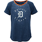 Majestic Youth Girls' Detroit Tigers Dugout Diva Shirt