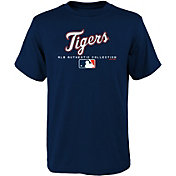 Majestic Youth Detroit Tigers Authentic Collection T-Shirt