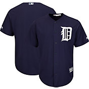 Majestic Youth Replica Detroit Tigers Cool Base Alternate Navy Jersey