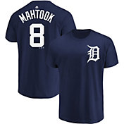 Majestic Youth Detroit Tigers Mikie Mahtook #8 Navy T-Shirt