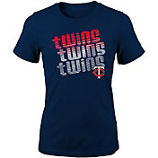 Majestic Youth Girls' Minnesota Twins 3-Peat T-Shirt