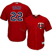 Youth Replica Minnesota Twins Miguel Sano #22 Alternate Red Jersey