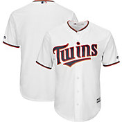 Youth Replica Minnesota Twins Cool Base Home White Jersey