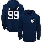 Majestic Youth New York Yankees Aaron Judge Navy Hoodie