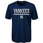 Majestic Youth New York Yankees Dri-Tek Wild Card T-Shirt