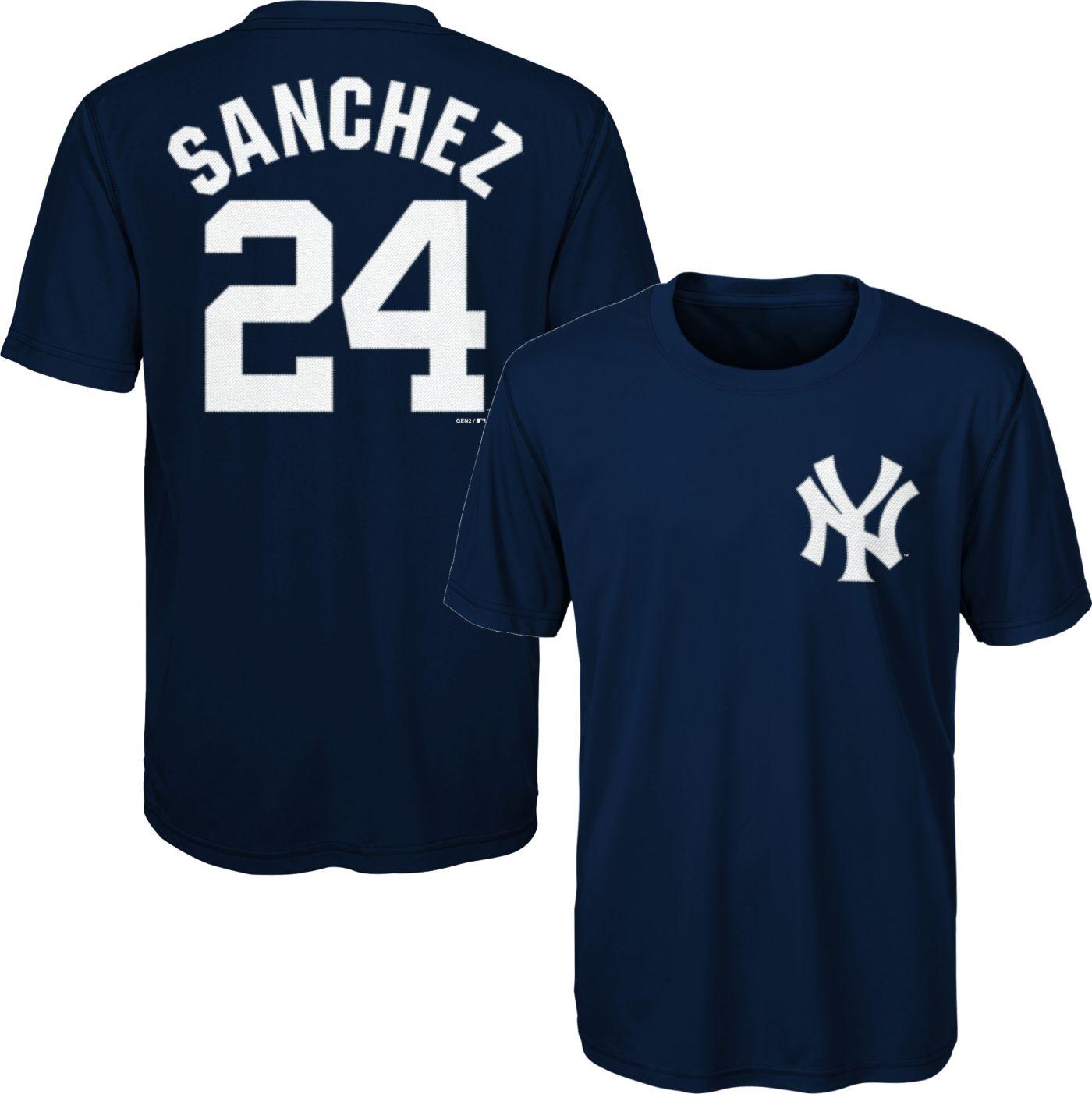 Majestic Youth New York Yankees Gary Sanchez #24 Performance T-Shirt