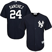 Youth Replica New York Yankees Gary Sanchez #24 Alternate Navy Jersey