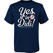 "Majestic Youth New York Yankees ""Yes In Didi"" Navy T-Shirt"