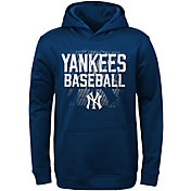 Majestic Youth New York Yankees Navy Hoodie
