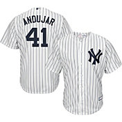 Youth Replica New York Yankees Miguel Andujar #41 Home White Jersey