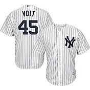 Youth Replica New York Yankees Luke Voit #45 Home White Jersey
