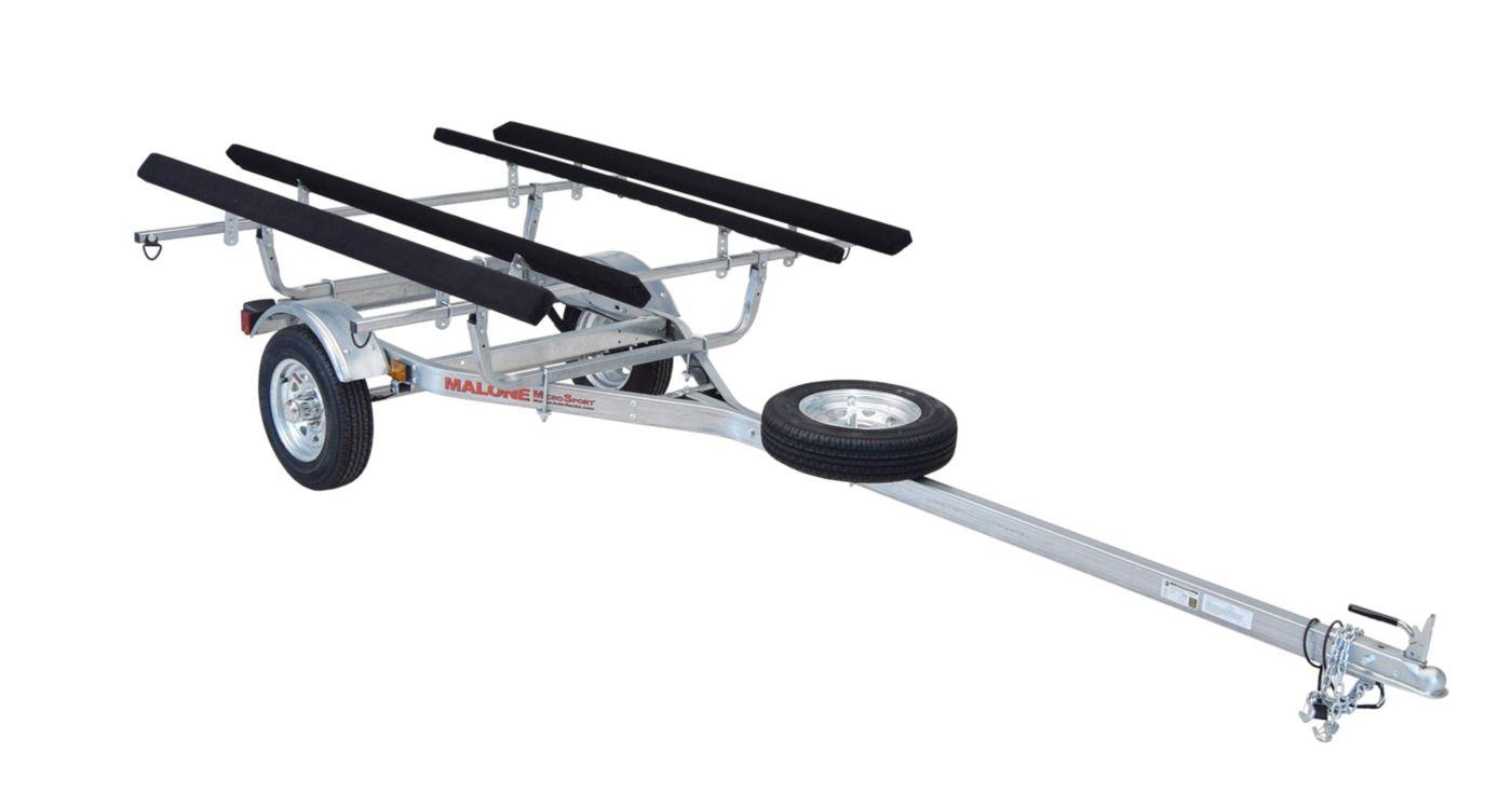 Malone MicroSport 2-Boat Bunk Style Trailer Set