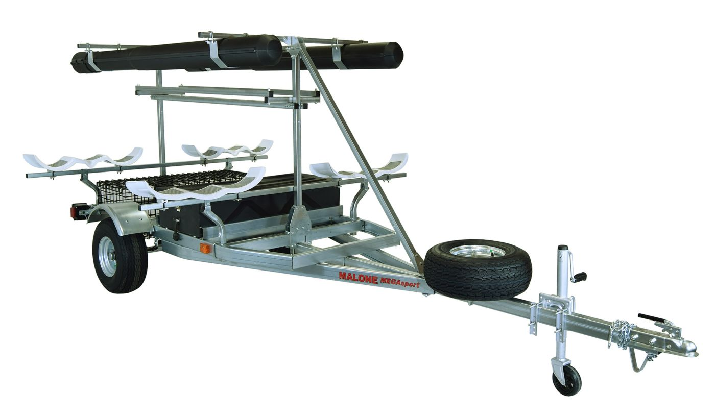 Malone MegaSport 2-Boat Ultimate Angler Package – Bunks