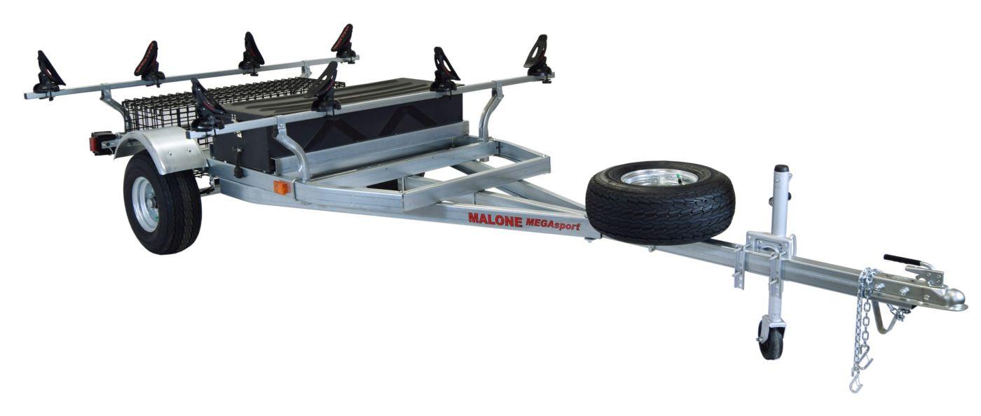 Malone MegaSport 2-Boat Saddle Up Pro Trailer Set