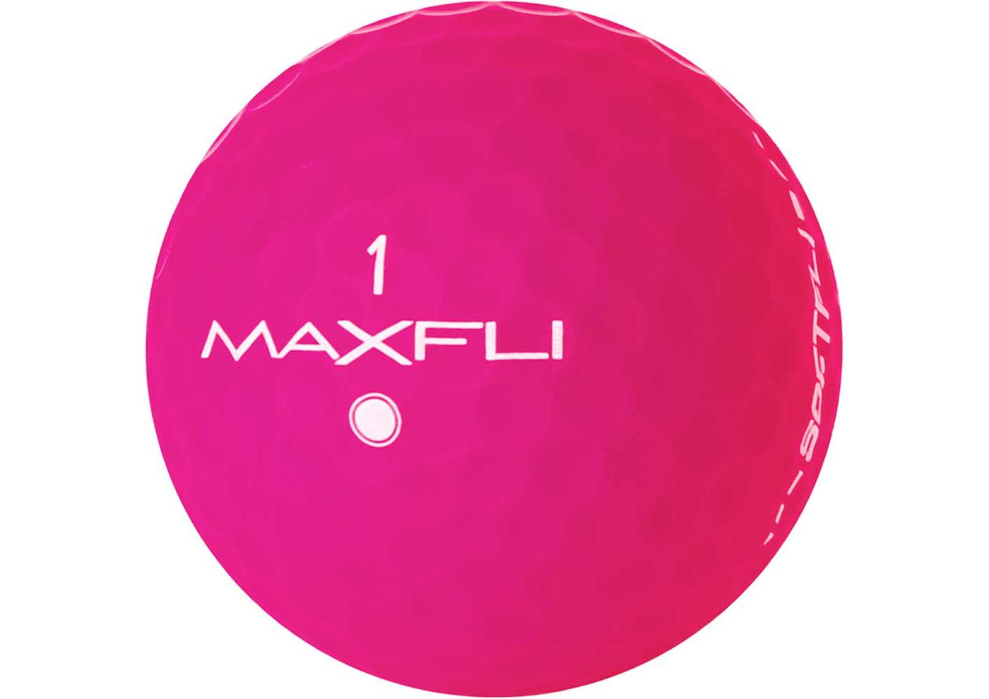 Maxfli SoftFli Matte Golf Balls – Pink