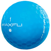 Maxfli SoftFli Matte Personalized Golf Balls ? Blue