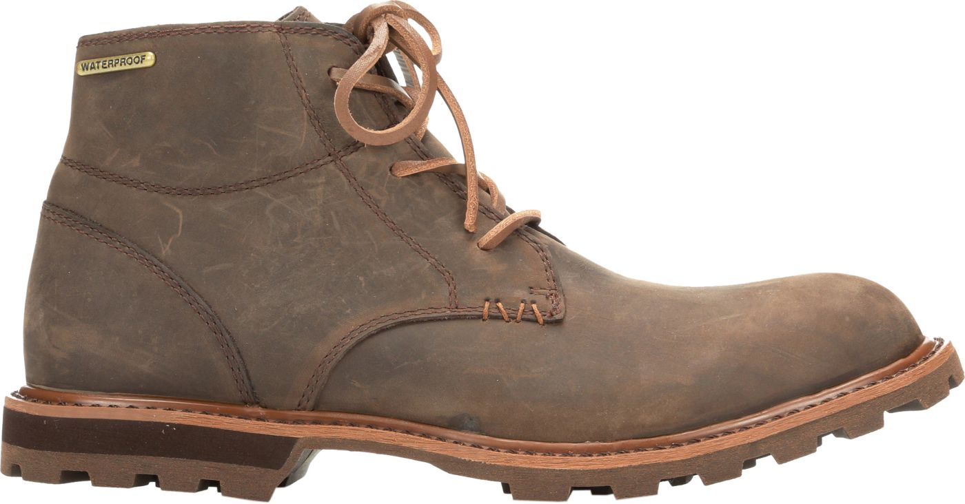 Muck Boots Men's Freeman Leather Lace-Up Casual Boots