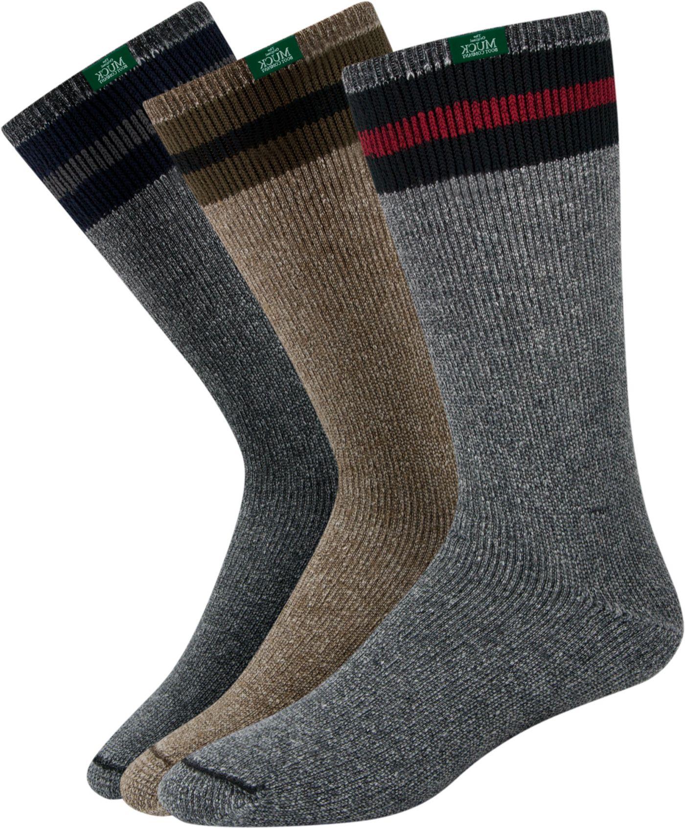 Muck's All American Wool Boot Socks - 3 Pack