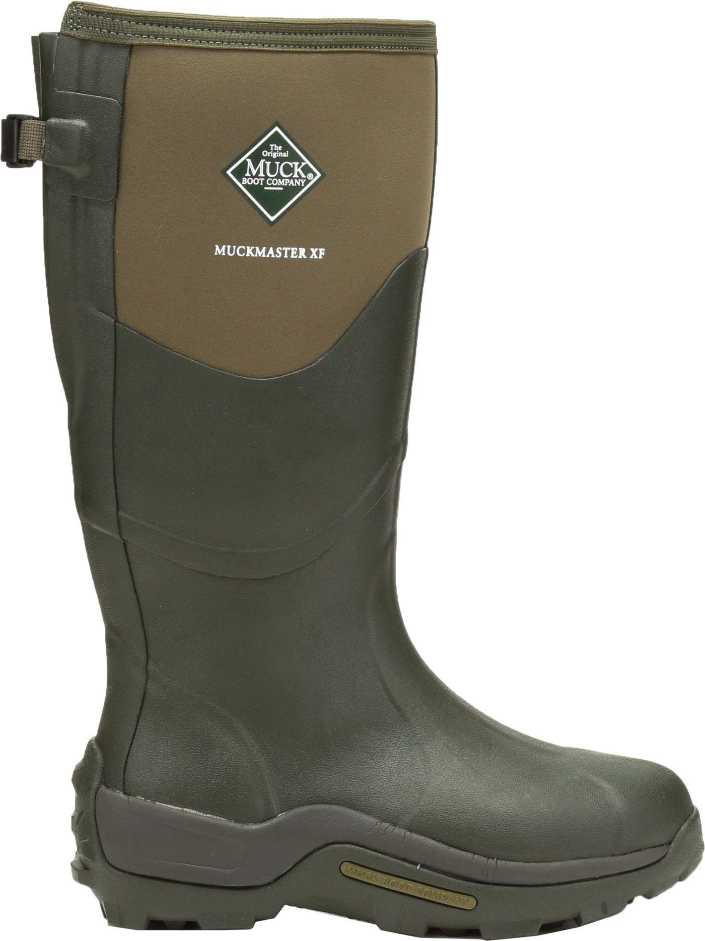 Muck Boots Men's Muckmaster Extended Fit Waterproof Work Boots