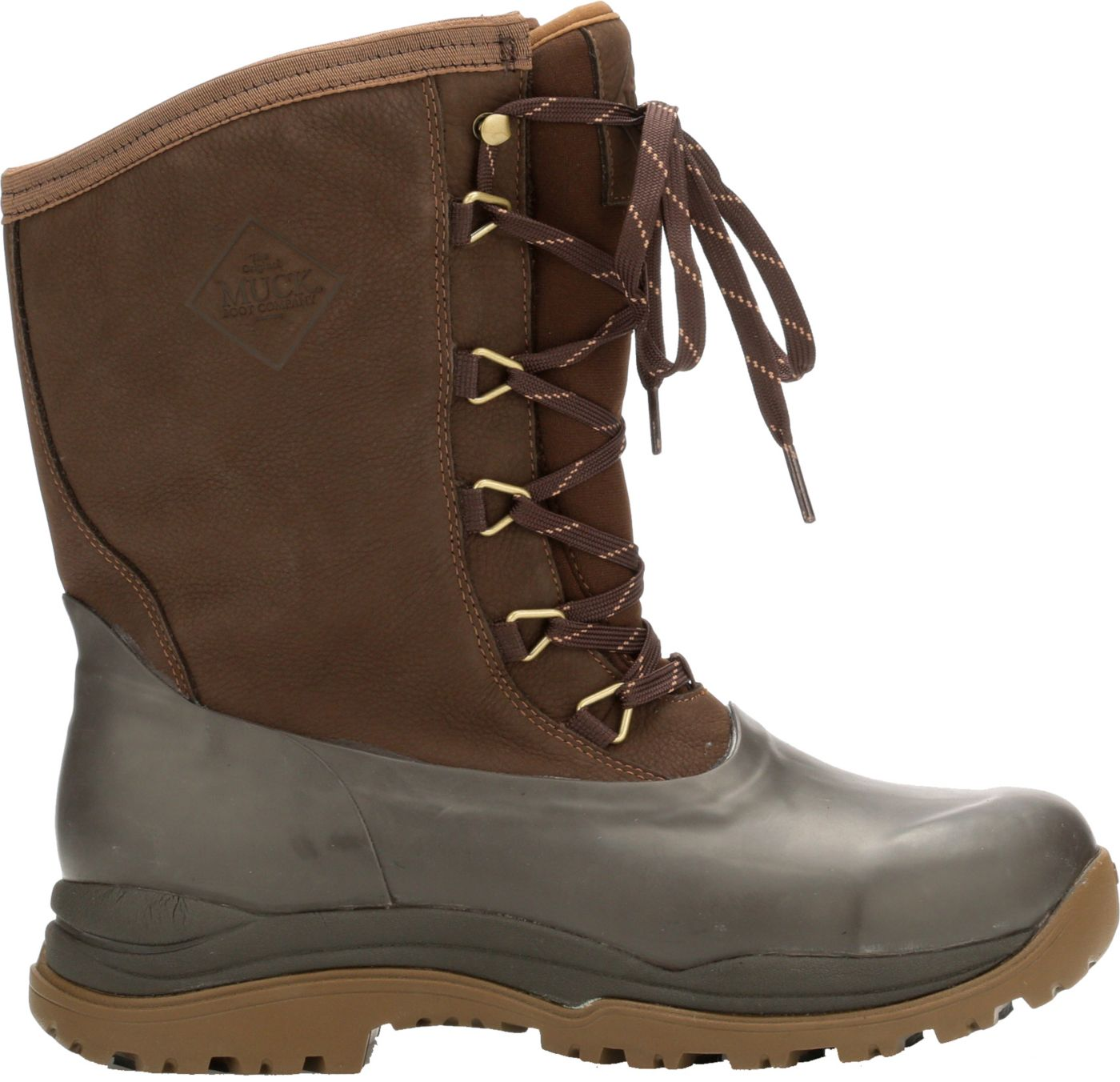 Muck Boots Men's Arctic Outpost Lace Mid Waterproof Winter Boots