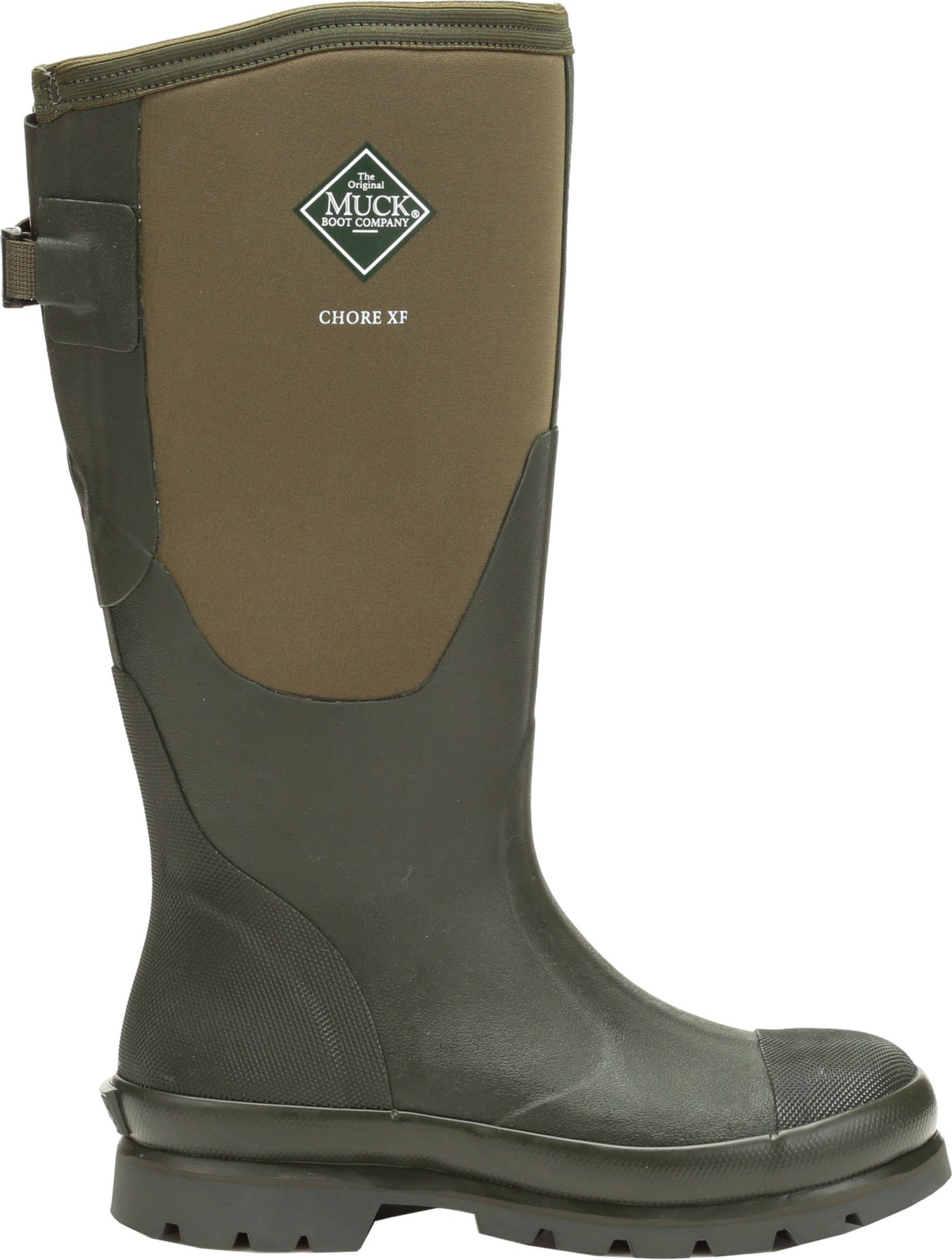 Muck Boots Women's Chore Extended Fit Waterproof Work Boots