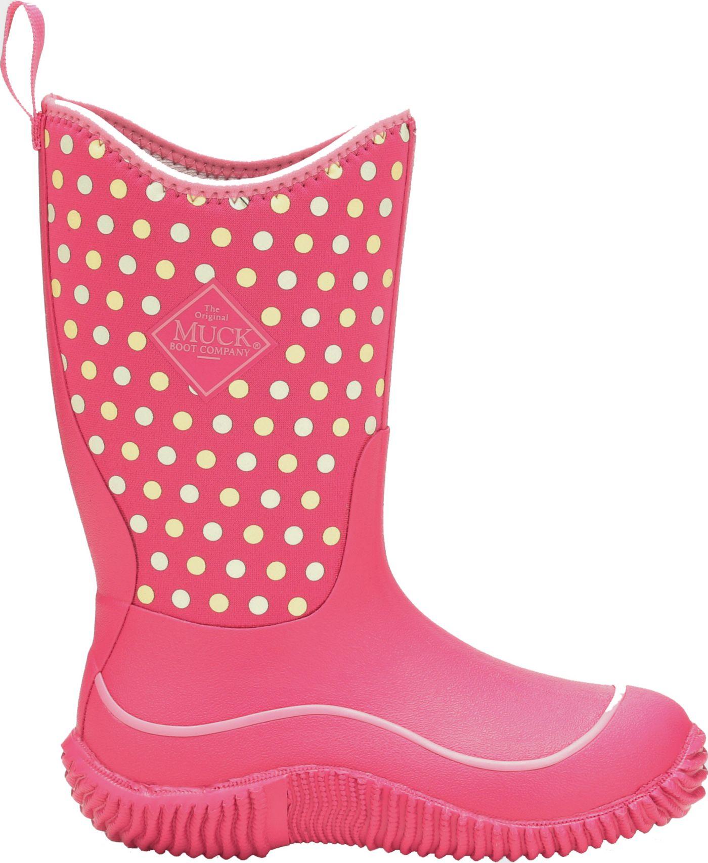 Muck Boots Kids' Hale Dots Rain Boots