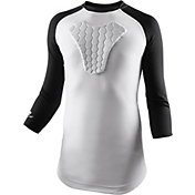 McDavid Youth HEX ¾ Sleeve Sternum Shirt