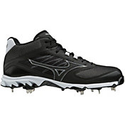 Mizuno Men's 9-Spike Dominant IC Mid Metal Baseball Cleats