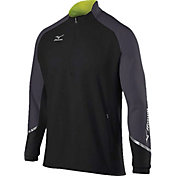Mizuno Men's Elite 1/2-Zip Pullover
