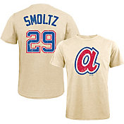 Majestic Threads Men's Atlanta Braves John Smoltz Tri-Blend T-Shirt